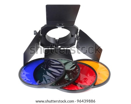 Color photo lighting equipment and filters