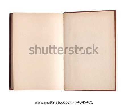 Color photo of an old classic book closeup - stock photo