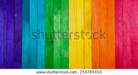 Color Popsicle Background