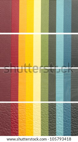 color samples banners - stock photo