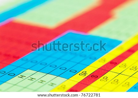 Color science table