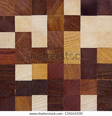 color square wood texture - stock photo