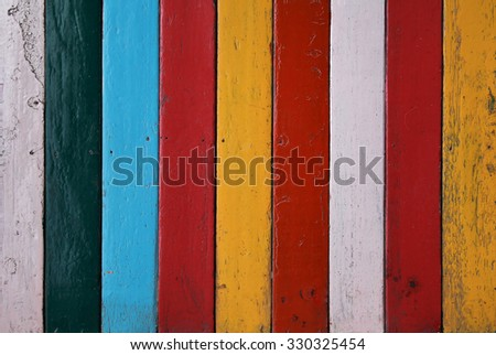 Color vintage wood fine tuned high resolution - stock photo