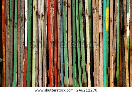 Color Wood