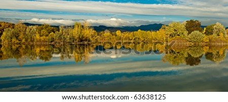 Colorado Fall - stock photo