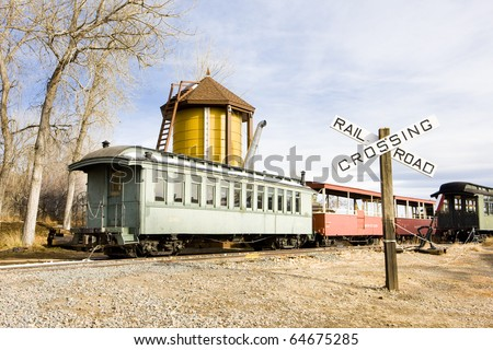 Colorado Railroad Museum, USA - stock photo
