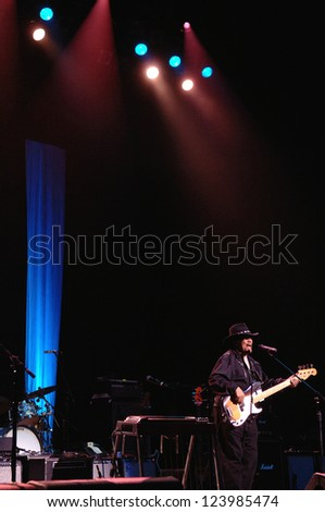 COLORADO SPRINGS, CO. USA	MARCH 30:		Bassist Billy Cox, formerly of the Jimi Hendrix Experience, performs in concert March 30, 2012 at the Pikes Peak Center in Colorado Springs, CO. USA