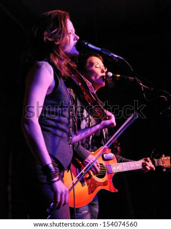 COLORADO SPRINGS		DECEMBER 13:		Folk Artist�s Mary Gauthier and Tania Elizabeth perform in concert December 13, 2011 at The Loft music hall in Colorado Springs CO.