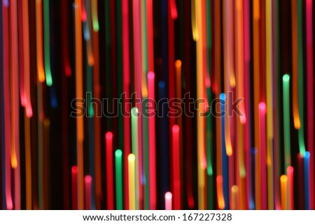 Colored Abstract Line Background - stock photo