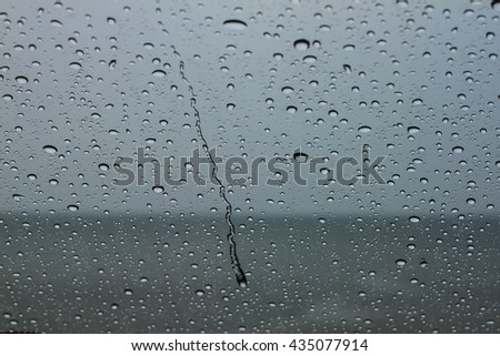 Colored abstract pattern of water drop on nature background:Close up,select focus with shallow depth of field:ideal use for background.
