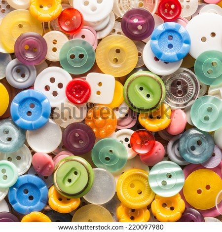 Colored buttons background