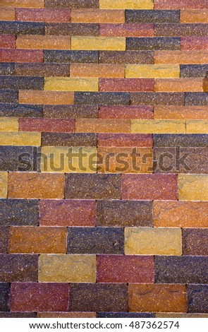 colored concrete paving slab texture, building material, background close-up