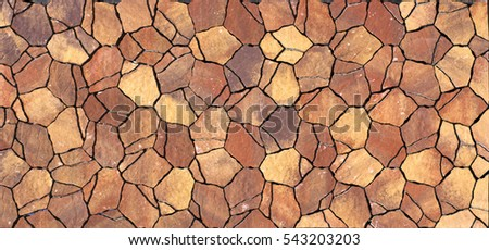 colored concrete paving slab with a beautiful high-quality texture close up