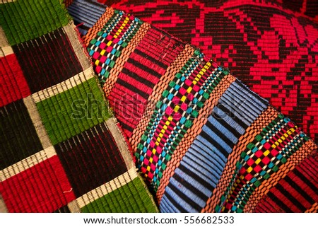 colored cotton texture