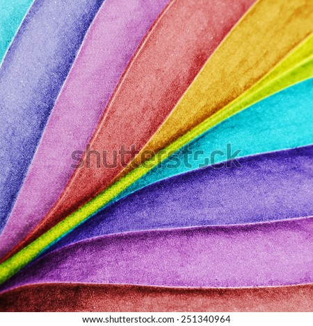 Colored leaf close-up background. Macro - stock photo