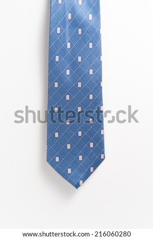 Colored Men's Silk Neckties - stock photo