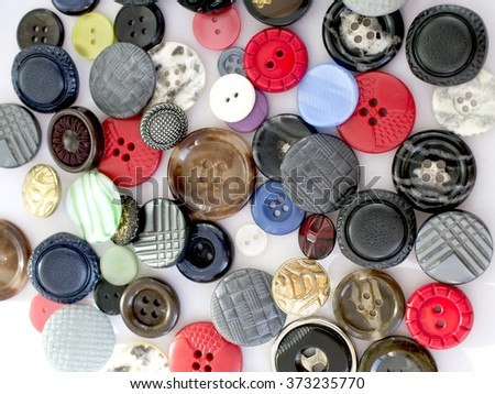 Colored old buttons - texture