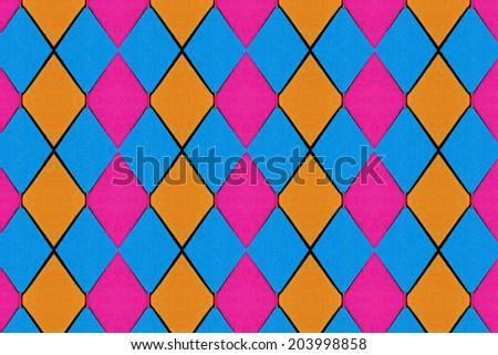 Colored paper  close - stock photo