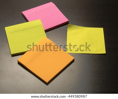 Colored paper for notes/Sticky Paper/Office stationery for memos and reminders