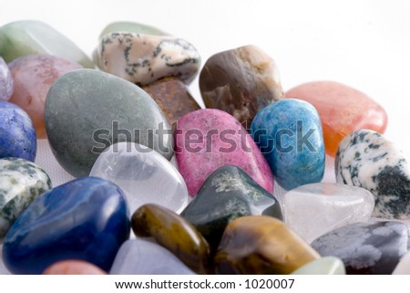 Colored rock