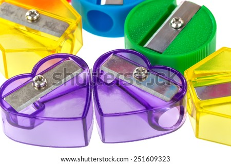 Colored sharpeners