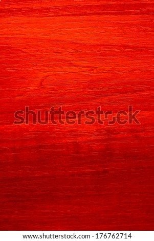 Colored Wood Texture. Shooted with flash and red gel ( flash filter) - stock photo