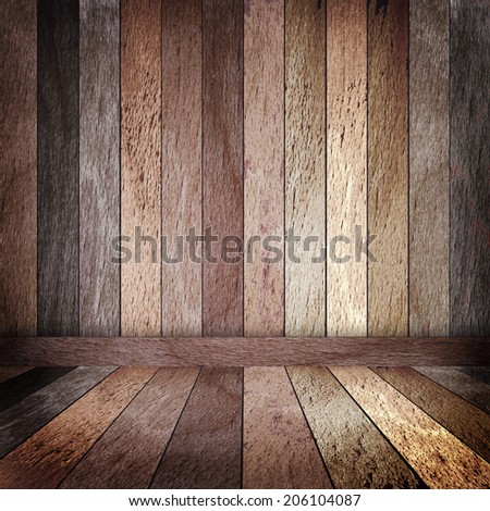 Colored wooden background. Raster version