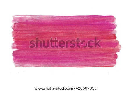 Colorful abstract acrylic hand painted brush strokes background