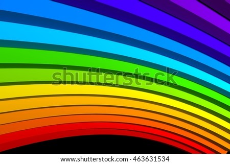 Colorful abstract Background ,3d illustration.