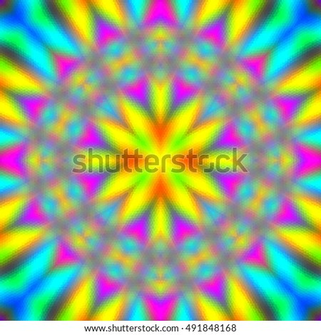 Colorful abstract background. Raster version.