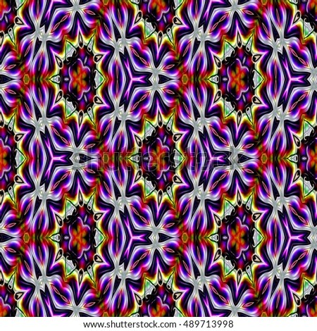 Colorful abstract background, seamless pattern, raster version.