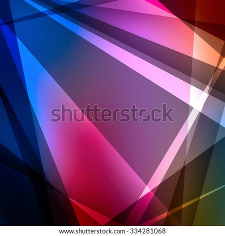 colorful abstract background with lines - stock photo