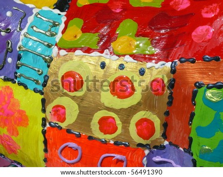 colorful abstract decorated islamic background. More of this motif & more backgrounds in my port.