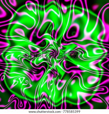 Зеленый и ультрафиолетовый