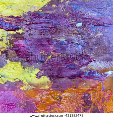 colorful abstract oil painting texture background