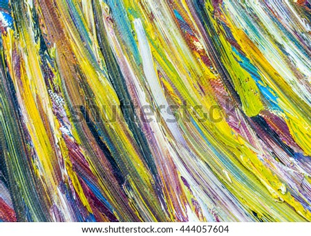 colorful  abstract oil painting texture background, palette knife, thick brush strokes