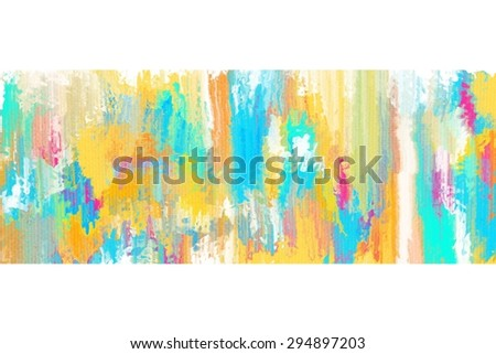 colorful abstract painting on canvas/colorful abstract painting on canvas/colorful abstract painting on canvas for background