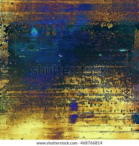 Colorful abstract retro background, aged vintage texture. With different color patterns: yellow (beige); brown; blue; purple (violet); black