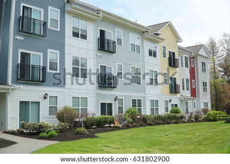 Apartment Building Front apartment exterior stock images, royalty-free images & vectors