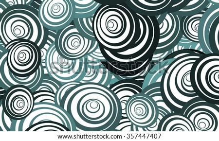 colorful art pattern background with layer by layer spiral concept.