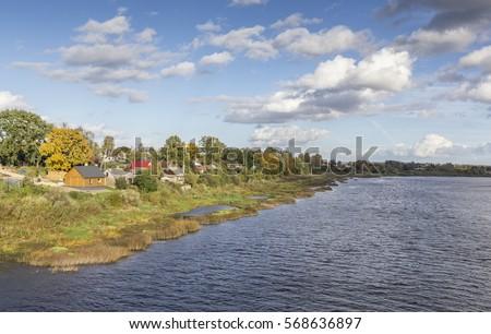 latvian autumn forest river - photo #13