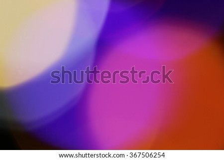 Colorful background beautiful bokeh / Blurry light  beautiful background and texture./ Rainbow/ Blurry rainbow natural light beautiful background and texture. - stock photo