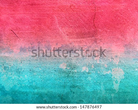 Colorful Background Cement Surface