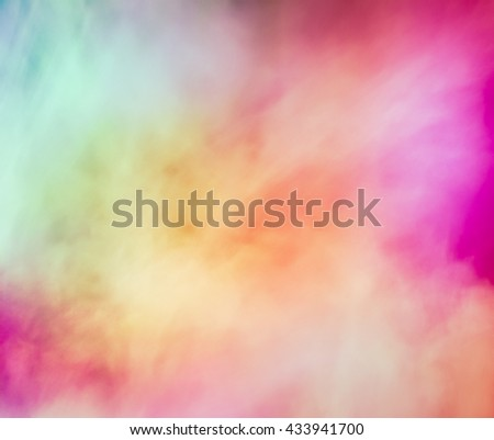 Colorful background joyful. Expressive abstract background. Bright colors. Completed in floral summer joyful palette. Very blurry textures. - stock photo