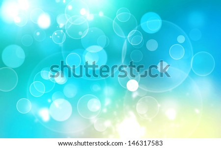 colorful background of digital bokeh lights