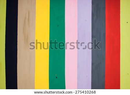 colorful background, rainbow-colored vertical stripes - stock photo