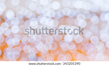 Colorful background taken from christmas lights.  Defocused lights - stock photo