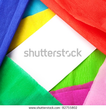 Colorful background with copy space. - stock photo