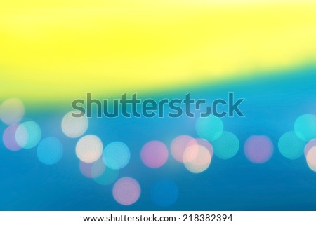 colorful background with dot light - stock photo