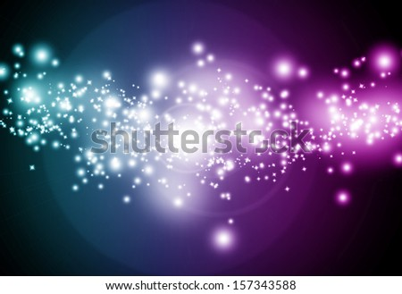 colorful background with some blurred lights on it - stock photo